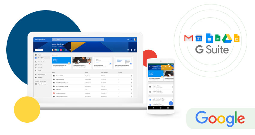 G Suite versus Google